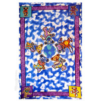 Grateful Dead Bears Around the World Tapestry on Sale for $24.99 at The Hippie Shop