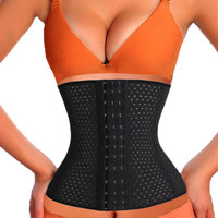 FeelinGirl Women Hot Body Shapers Slim Waist Tummy Girdle Belt Waist Cincher Underbust Corset Firm Waist Trainer Slimming Belly