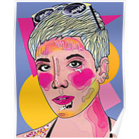 Abstract Halsey ACL FEST 2015 by cyberbabe