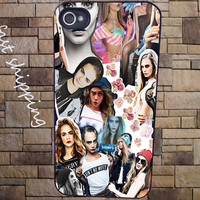 Cara Delevingne Collage Cover for iPhone 3Gs/4/4s/5/5s/5c, iPod 4/5/nano7, Samsung Galaxy s2/s3/s4/s5/note/ace2, HTC One/one X
