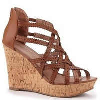 Zigi Soho Brown Larsen Wedges