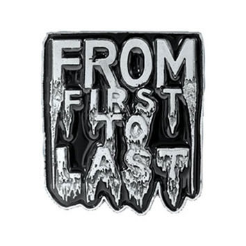 From First To Last Men's Belt Buckle Silver
