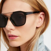 Free People Hang Ten Cut-Out Aviator