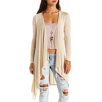 EXTRA-LONG WATERFALL DUSTER CARDIGAN