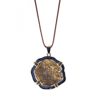 Circle & Square | Shipwreck Coin Replica-Antique Gold