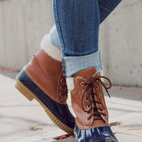 Winter Pine Boot