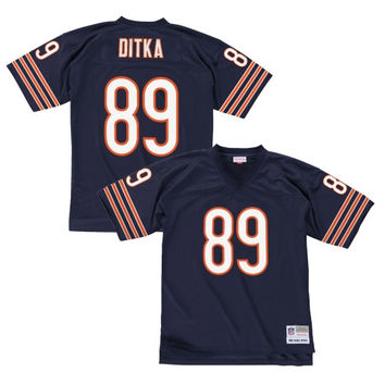 Mike Ditka Chicago Bears Mitchell & Ness Replica Retired Player Jersey – Navy Blue