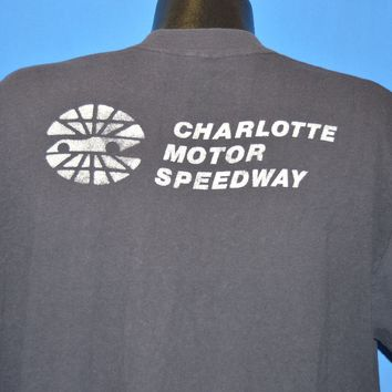 70s Charlotte Motor Speedway Racing t-shirt Extra Large