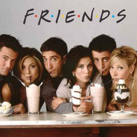 Friends Milkshakes TV Show Cast Poster 11x17
