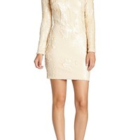 Dress the Population 'Lola' Backless Sequin Minidress | Nordstrom