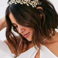 Leaves Halo Headband | Urban Outfitters