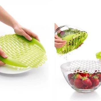 Silicone Thawing Mesh Cover