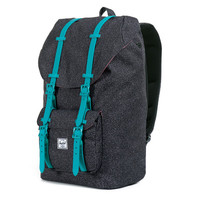 Herschel Supply Co.: Little America Backpack - Speckle / Teal Rubber (Weather Pack)