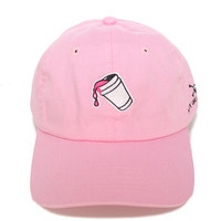 The Purple Drank Hat in Pink