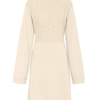 Exclusive to mytheresa.com – wool and cashmere dress