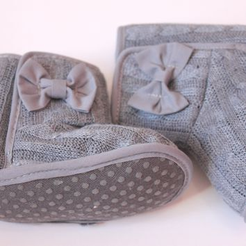 Baby Girl Winter Gray Boots