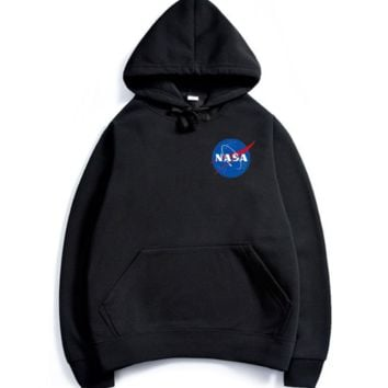 NASA autumn/winter new popular logo series of alphabet jacket hoodoos,Small icon