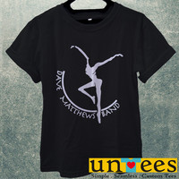 DMB Dave Matthews Band Fire Dancer Logo Men T Shirt