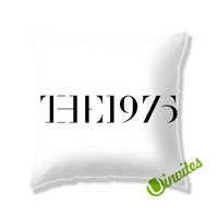 The 1975 Band Logo Square Pillow Cover