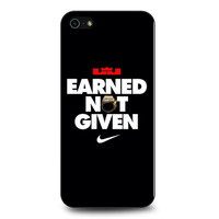 Lebron James Earned Not Given iPhone 5 | 5S Case