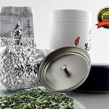 Oolong Tea High Mountain  Healthy Beverage   Loose Leaf for Infusers   Organic Chai   Delicious Hot or Cold Drink   Weight Loss Diet   Wu Long Tea   Ali Shan Da Yu Ling Tea Tin