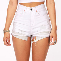 Shredder High Waist Shorts
