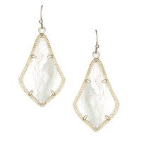 Kendra Scott Alex Earrings In Mother Of Pearl