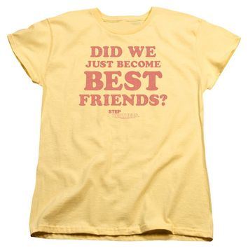 Step Brothers Womens T-Shirt Best Friends Banana Tee