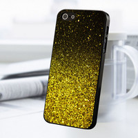 Yellow Gold iPhone 5 Or 5S Case