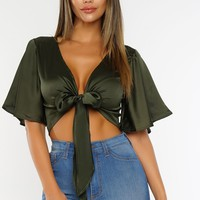 Tenley Top - Olive
