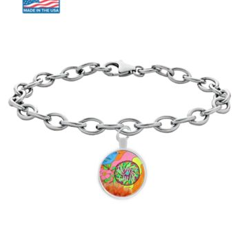 """Flower Child"" Hippie Bracelet is an Excellent Gift Idea for Anyone!"
