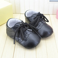 Fancy Leather Straps Paragraph Baby Toddler Shoes 3 Colors Black Brown White Sizes S M L BB0009