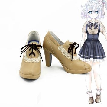 Hand shakers cosplay hero costume saber party japanese lolita school girls sports shoes boots custom  shoes