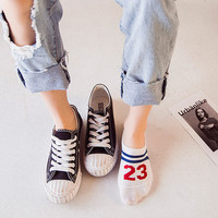 Hot sale High Quality Fashion socks for Women ankle low female invisible hosiery women's socks 17-068