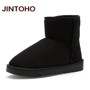 Unisex Winter Snow Boots Ankle Rubber Boots Fashion Men Winter Shoes Cheap Men Winter Boots Boots