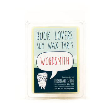 Wordsmith - Book Lovers' Scented Soy Tart - 3oz pack
