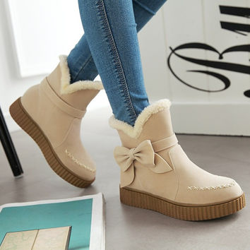 On Sale Hot Deal Shoes Casual Thicken Cotton Boots [8939359878]