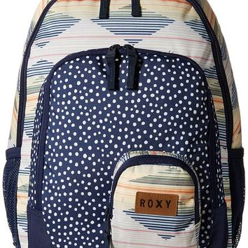 Roxy Junior's Noble Trek Poly Backpack, Garden Party, One Size