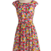Emily and Fin Day After Day Dress in Garden | Mod Retro Vintage Printed Dresses | ModCloth.com
