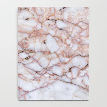 Marble Collection: Pink Gray Marble Journal, Marble Notebook, Lined & Unlined Notebook,Pink Marble Print Notebook, Minimal Marble Journal