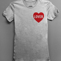 Lover - Grey T-shirt - One Direction