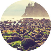 Olympic National Park Circle Wall Decal