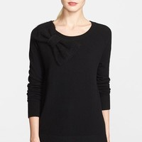 kate spade new york bow detail slouchy sweater