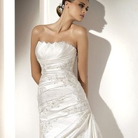 Cheap Pronovias Wedding Dresses - Style Medieval - Only USD $396.00