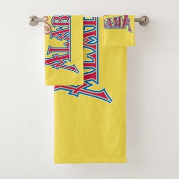 Alabama is Home Bath Towel Set