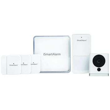 Ismartalarm Wireless Home Security System Starter Package