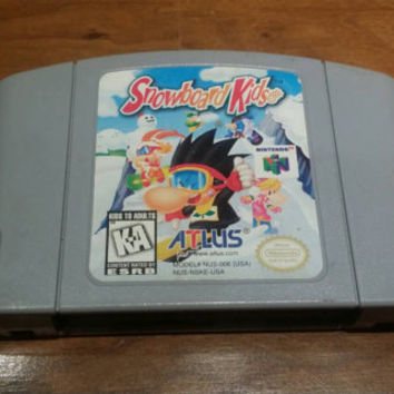 Snowboard kids Nintendo 64 n64 video game system console FREE SHIPPING