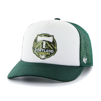 MLS Portland Timbers Glimmer Captain Adjustable Snapback Hat, One Size, Dark Green