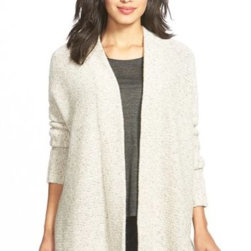 Women's Eileen Fisher Cashmere Blend Poncho Cardigan,