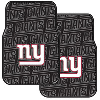 NY Giants  Car Floor Mat (Set of 2)